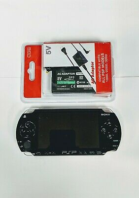 Sony PSP 1000 Black Handheld Console System Tested Works New Battery