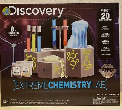 GROSS SCIENCE LAB KIDS EDUCATIONAL CHEMISTRY EXPERIMENT LEARNING TOY