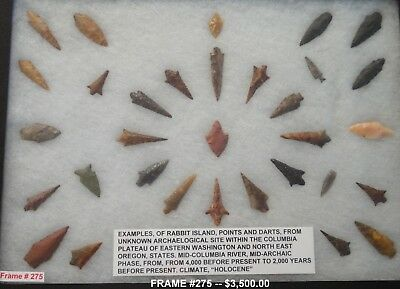 Artifacts from Columbia River, Lower Snake River Columbia Plateau, Great Basin,