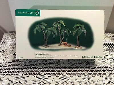 Dept 56 Cypress Trees #809352 FREE SHIPPING NIB