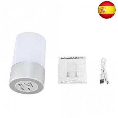 FTVOGUE LED Touch Regulable Night Light RGB Color Que Cambia la Mesa de