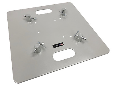 """20""""x20"""" Lighting Stand Square Aluminum Trussing Base Plate For 12""""x12"""" Truss"""