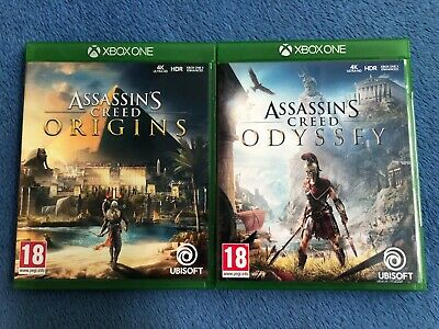 Assassin's Creed Odyssey (Origins) Xbox One Lot Of 2 Games