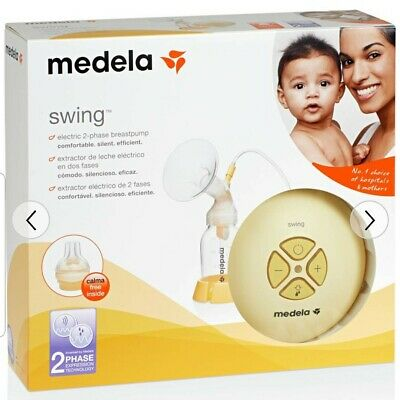 Swing single electric breast pump NEW AND SEALED