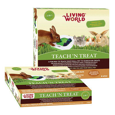 Living World 3in1 Interactivo Roedor Juguete, Nuevo