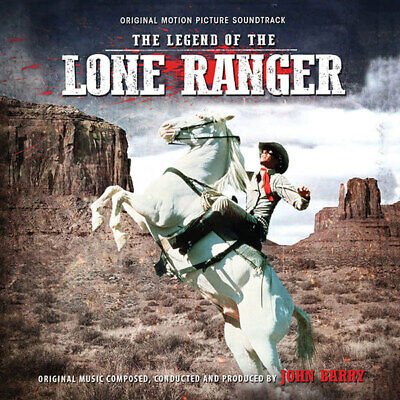 Legend of the Lone Ranger Soundtrack CD John Barry 19CDL90