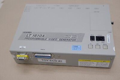 Leader Lt 1610A Programmable Video Generator
