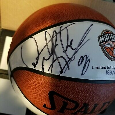 hot sale online bbcb3 ecfd0 DENNIS RODMAN AUTOGRAPH Signed Hall Of Fame NBA Spalding Basketball.  LIMITED!