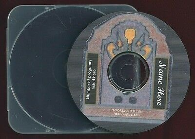TWO THOUSAND PLUS MP3 CD Old time radio science fiction drama shows  1950's OTR