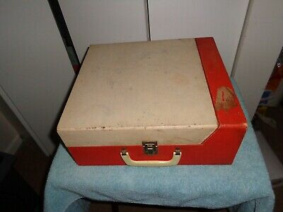 Vintage Record Player Montgomery Ward Airline Model Twr 758A