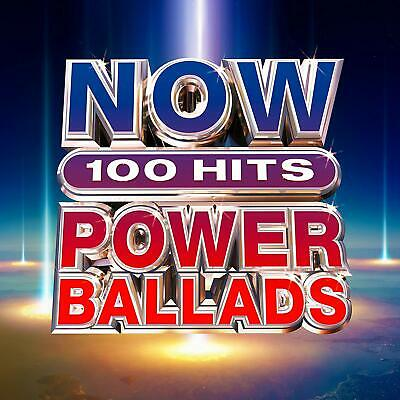 NOW 100 Hits Power Ballads - Meat Loaf Bonnie Tyler [CD]