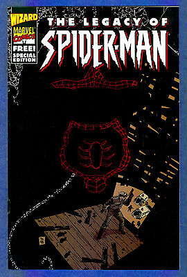 THE LEGACY OF SPIDER-MAN - 1998 Marvel / Wizard -  (fn)