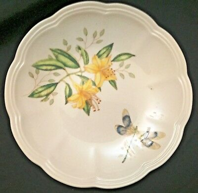 Lenox Butterfly Meadow Dragonfly Party Plate...