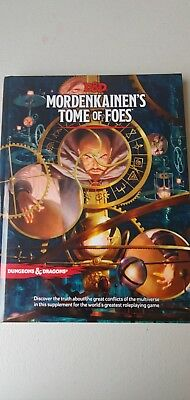 Mordenkainen's Tome of Foes 5th Edition Dungeons & Dragons