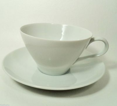 NORITAKE COOK'N SERVE CHINA ANGELA WHITE JAPAN EXCELLENT CUP(s) & SAUCER(s) SETS