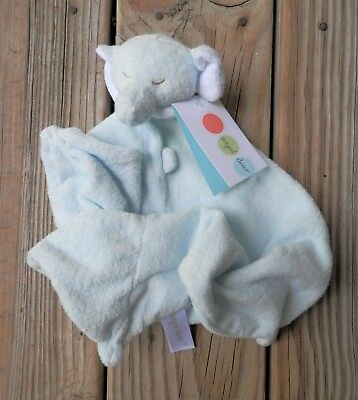 Baby Cheap Price Angel Dear Light Blue Soft Baby Elephant Lovey Security Blanket Plush Large Size