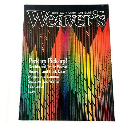 Weaver's Magazine Issue 24 1994: Pick Up, Double and Triple Weave, Finnweave