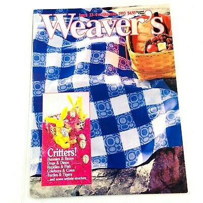 Weaver's Magazine Issue 23 1993: Critters - Bears Dogs ... Overshot Patterning