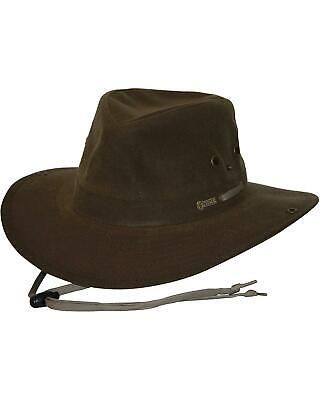 Outback Trading Co. Oilskin River Guide Hat - 1497TAN