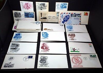 Lot of 145 FDC First Day Issue Cover & Postal Envelope 22kt Gold Replica 1969-88