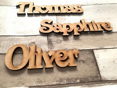 Wooden Name Personalised Victoria Font Names Wedding Words Letters Place Names