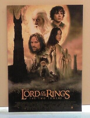Lord Of The Rings '' The Two Towers '' Post Card