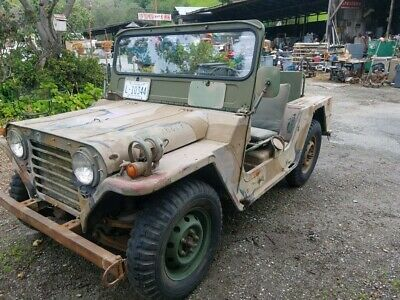 1968 military Jeep M151A1