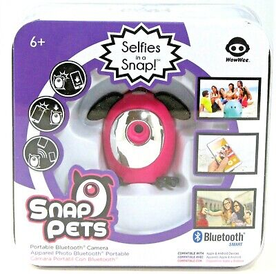 Snap Pets - Selfies in a Snap! Portable Bluetooth Camera (WowWee)