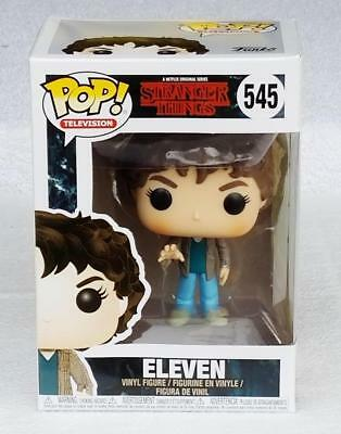 Funko Pop Stranger Things Eleven 545 Collectible Vinyl Figure NIB