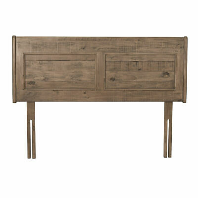 Willis & Gambier Louis Philippe Reclaimed Oak Wood Double Headboard