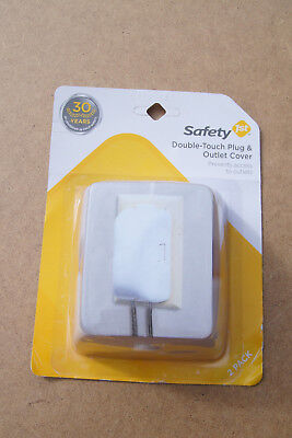 Safety 1St Double Touch Plug & Outlet Cover 2 Pack - Child Proofing Safety First