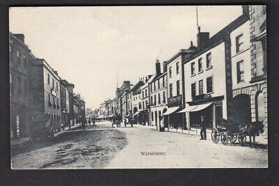 Wilts Wiltshire WARMINSTER General view GWR cart c1900/10s? PPC