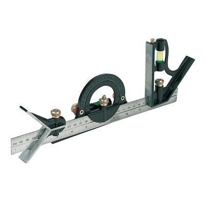 Combination Set Square 300mm.180° Protractor & Centre Head. - 991857