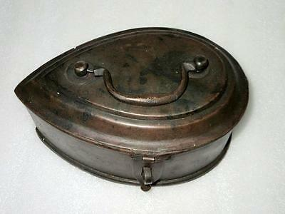 Antique Old Brass Hand Crafted Brass Rare Mughal Islamic Betel Nut Pan Dan Box