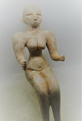 Large & Impressive Ancient Indus Valley Harappan Terracotta Idol Unusual