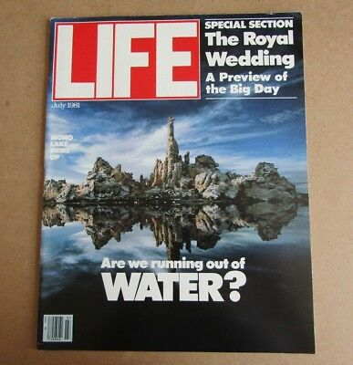 Life Magazine - July 1981 - See Images For Contents Page