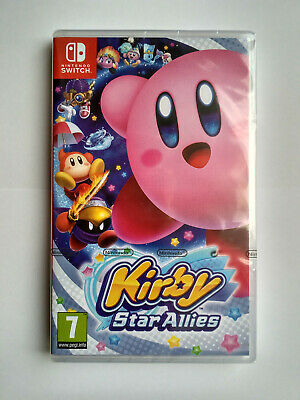 Kirby Star Allies Nintendo Switch PAL Brand New Factory Sealed