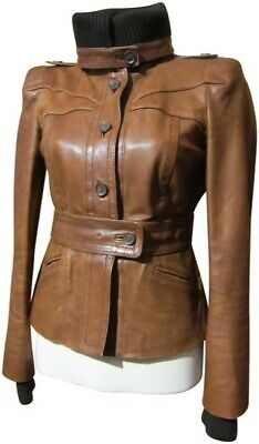 f6f262253 GUCCI WOMENS VINTAGE Black / Brown Suede Long-Sleeve Belted Trench ...