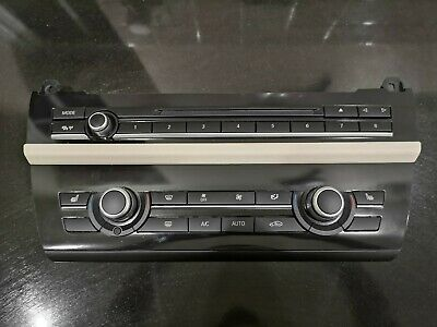 BMW F10 F11 AC Air Conditioning Heater Climate Control Panel