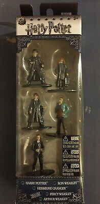 NANO METALFIGS HARRY POTTER 5 Pack Figure Set by Jada Toys84412Pack A  NEW