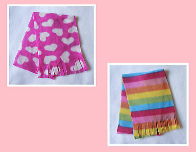 GIRLS FLEECE SCARVES - 100cm x 16cm