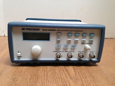 BK PRECISION 4040DDS 20MHz Sweep Function Generator  4040 DDS