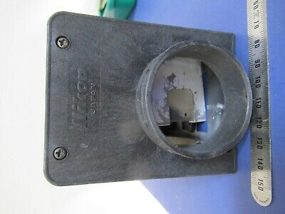 For Parts Microscope Part Empty Housing Nikon Lamp As Pictured &9-A-20