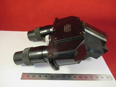 For Parts Microscope Rare Ernst Leitz Antique Binocular Head As Pictured &9-A-73