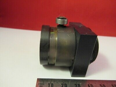 Reichert Leica Polyvar Brass Mounted Lens Microscope Part As Pictured &9-A-46