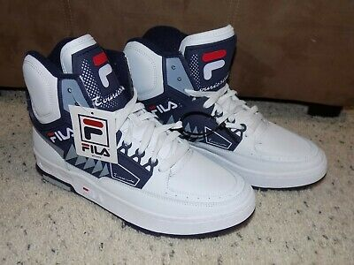 29d49246817c New w Tags Mens 11.5 Fila Tourissimo Limited Edition White   Blue High Top  Shoes