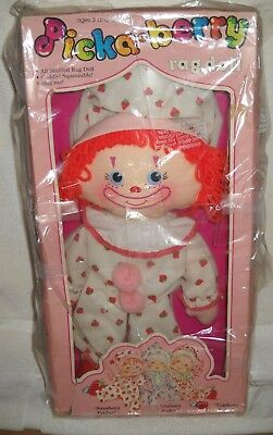 #9705 RARE NRFC Vintage Picka-Berry Circus Strawberry Patches Rag Doll
