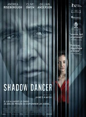 Shadow Dancer (DVD 2012 WS) Andrea Riseborough, Clive Owen Gillian Anderson NEW