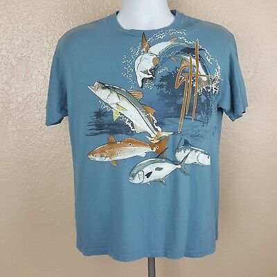 9322864a2 NEW GUY HARVEY Men's Ginger Classic Fit Graphic T-Shirt Size Medium ...