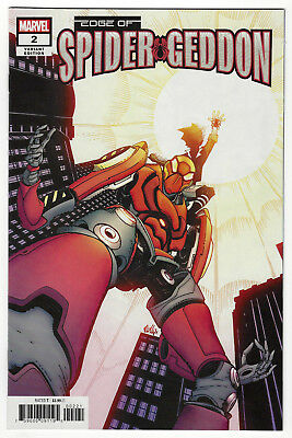 EDGE OF SPIDER-GEDDON #2 | Cully Hamner Cover B Variant | 1st Ven#m | 2018 | NM